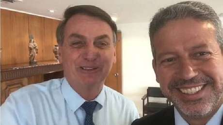 O presidente Jair Bolsonaro e o deputado federal Arthur Lira (PP-AL).