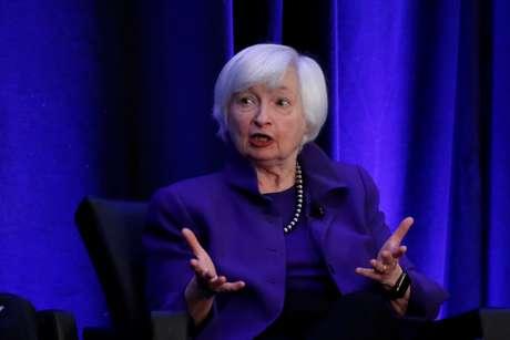 Indicada ao Tesouro dos EUA, Janet Yellen .  REUTERS/Christopher Aluka Berry