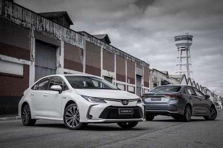 Kinto Share chegou ao Brasil em 2020 e oferece modelos como o Toyota Corolla em versão híbrida.