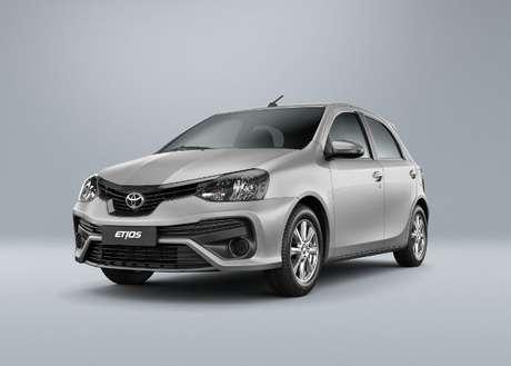Opção mais barata do Kinto Share é o Toyota Etios 1.5 AT, que custa a partir de R$ 22 por hora.