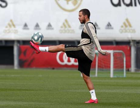 Hazard não vingou no Real Madrid (Foto: ANTONIO VILLALBA / REAL MADRID)