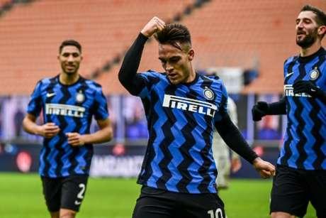 Inter de Milão faz um bom Campeonato Italiano (MIGUEL MEDINA / AFP)