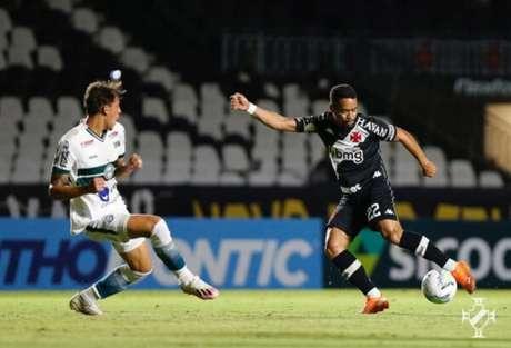 Com um a menos, Vasco perdeu para o Coritiba por 1 a 0 em São Januário (Foto: Rafael Ribeiro/Vasco)