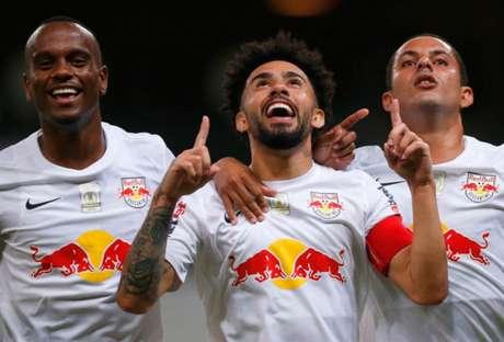 Claudinho mais uma vez foi decisivo para o Red Bull Bragantino (Foto: Ari Ferreira/Bragantino)