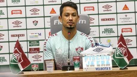 Lucca participou da jogada do gol da vitória do Fluminense diante do Sport (LUCAS MERÇON / FLUMINENSE F.C.)
