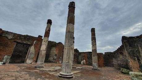 Reforma foi realizada por restauradores do Parque Arqueológico