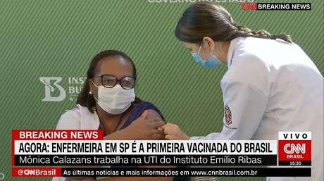 A CNN Brasil fez ampla cobertura do tão aguardado início da vacinação no País