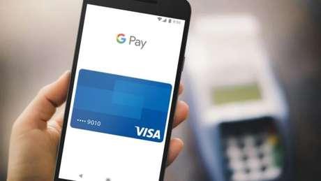 Cartões aceitos no Google Pay (Imagem: Divulgação/Visa)