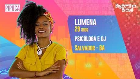 Lumena, psicóloga e DJ - 29 anos