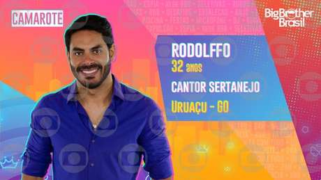 Rodolffo, cantor sertanejo - 32 anos