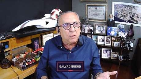 Galvão Bueno é narrador e apresentador do Grupo Globo (Foto: Reprodução)