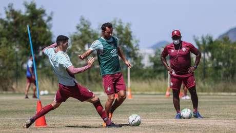 Fluminense se prepara para o momento decisivo da temporada de olho na Libertadores 2021 (Lucas Merçon / FFC)