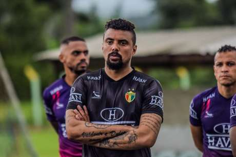 O camisa 1 do Brusque comentou sobre a expectativa para a Série B de 2021 (Foto: Jefferson Alves/Brusque)