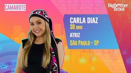 Carla Diaz, atriz - 30 anos