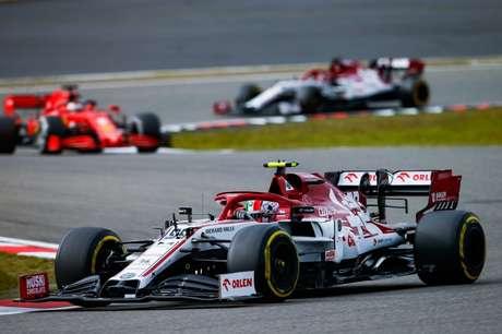 Em 2020, a Alfa Romeo ficou em 8º lugar no campeonato de construtores.
