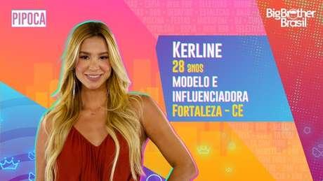 Kerline, modelo e influenciadora - 28 anos