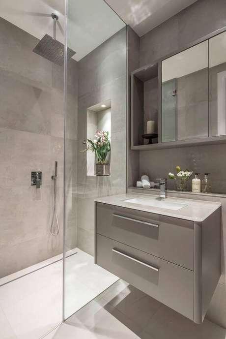 19. Banheiro sem janela decorado – Via: Homify