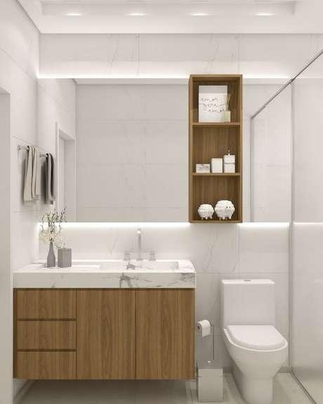 26. Banheiro sem janela – Via: im2 Arquitetura