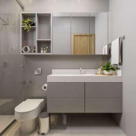 27. Banheiro sem janela – Via: Pinterest