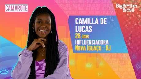 Camilla de Lucas, influenciadora - 26 anos