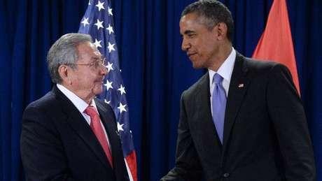 Cuba e EUA retomaram relações em 2016
