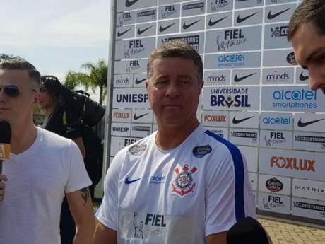 Walmir Cruz teve duas passagens pelo Corinthians (Foto: Guilherme Amaro)