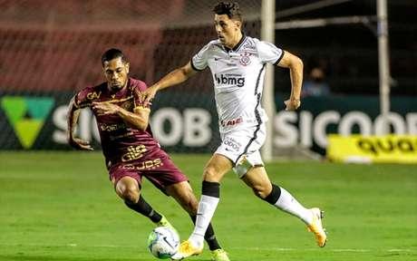 No primeiro turno, o Sport venceu o Corinthians por 1 a 0, na Ilha do Retiro (Foto: Rodrigo Coca/Corinthians)