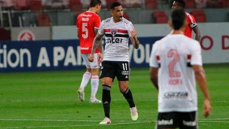 São Paulo terá que quebrar histórico ruim contra o Internacional (Foto:Everton Pereira/Ofotografico/Lancepress!)