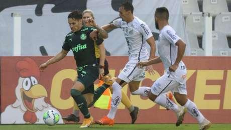 Clássico paulista pelo título (Foto: Cesar Greco/Palmeiras)