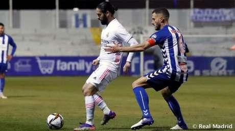 Alcoyano surpreendeu o Real Madrid nesta quarta-feira (Foto: ANTONIO VILLALBA / REAL MADRID)