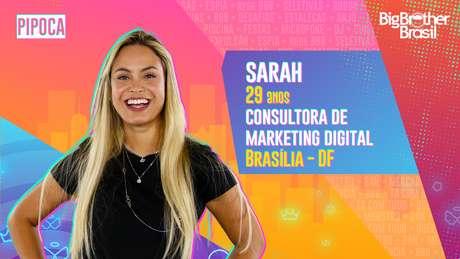 Sarah, consultora de marketing digital, 29 anos