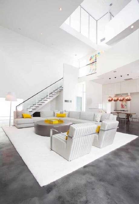 38. Estabeleça um projeto de casa com mezanino de acordo com as suas prioridades e necessidades. Fonte: Pinterest