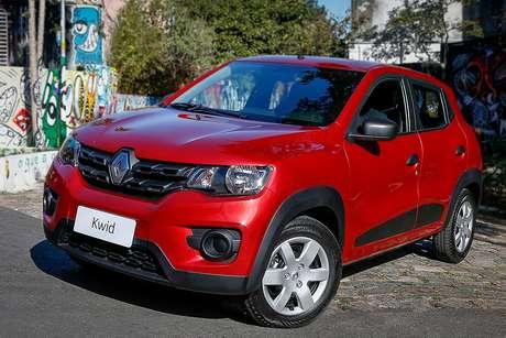 Renault Kwid: assinatura mensal do subcompacto começa em R$ 869 para pessoa jurídica.