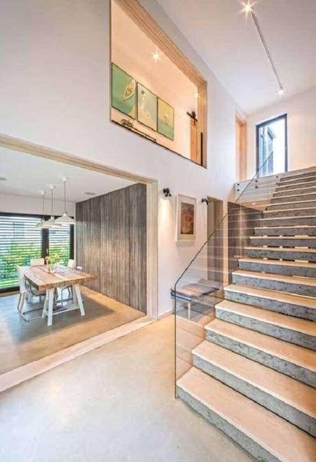 47. Monte a planta de casa com mezanino junto com o arquiteto do projeto. Fonte: Pinterest