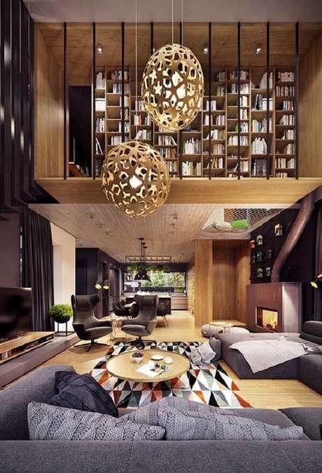 48. Monte um espaço de leitura dos sonhos na sua casa com mezanino. Fonte: Pinterest