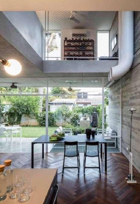 64. Projeto de casa com influência da decoração escandinava. Fonte: Pinterest