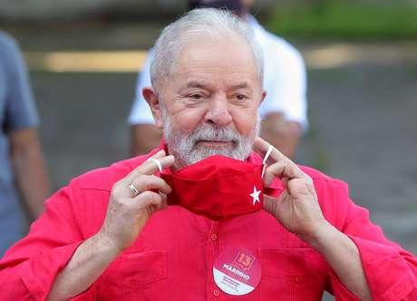 Ex-presidente Luiz Inácio Lula da Silva 15/11/2020 REUTERS/Amanda Perobelli