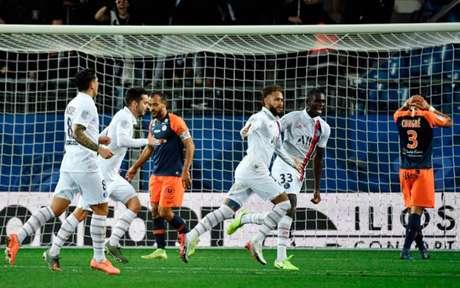 PSG recebe o Montpellier nesta sexta-feira (Foto: PASCAL GUYOT / AFP)