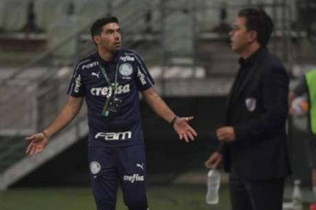 Abel chegou e mudou o estilo do Palmeiras (Foto: AFP)