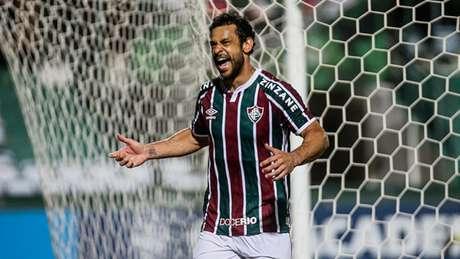 Fred marcou um dos gols do Fluminense no empate com o Coritiba (Foto: LUCAS MERÇON / FLUMINENSE F.C.)