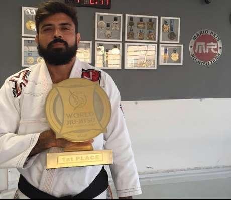 O campeão mundial Mário Reis fará uma das superlutas da quinta edição do BJJ Stars (Foto: arquivo pessoal)