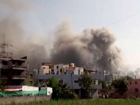 Instituto Serum foi atingido por incêndio