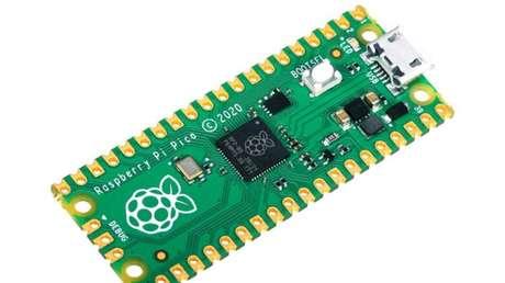 Raspberry Pi Pico (Imagem: Divulgação/Raspberry Pi Foundation)