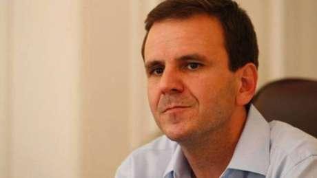 O prefeito do Rio Eduardo Paes