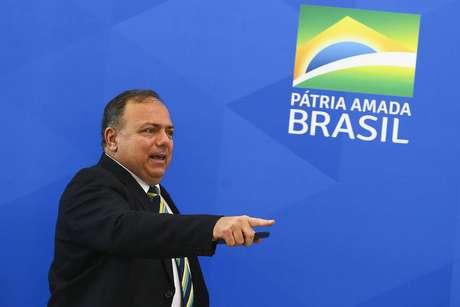 Eduardo Pazzuello, ex-ministro da Saúde