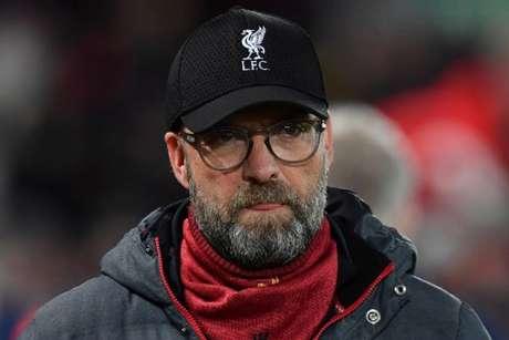 Klopp criticou o desempenho recente da equipe (PAUL ELLIS / AFP)