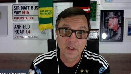 Mauro Cezar em um vídeo de seu canal do Youtube (Reprodução / Youtube Mauro Cezar)