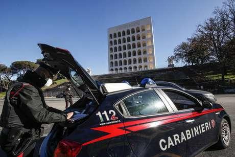 Viatura da Arma dos Carabineiros, a polícia militar italiana