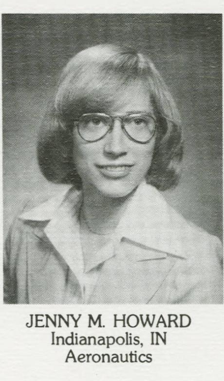 Jenny May Howard. Não falei que era nerdinha?