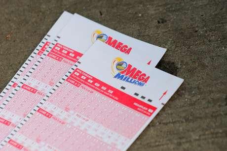 Tickets da loteria Mega Millions. Nova York, EUA, 23/10/2018. REUTERS/Brendan McDermid/Foto de arquivo